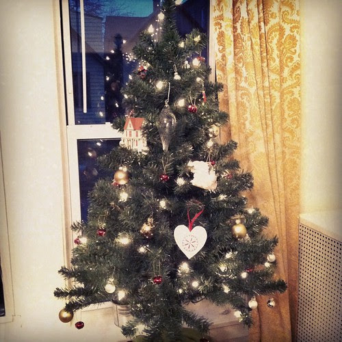 Christmas tree is up!