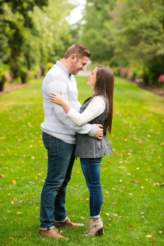 Ashley & Brad Engagement Session | Mill Creek Park Engagement Photos | Youngstown, Ohio
