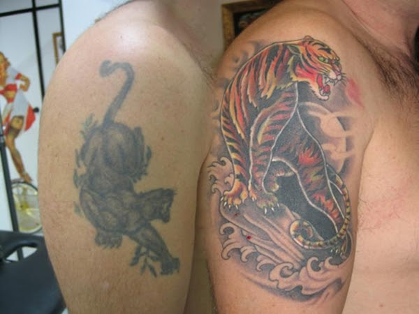 Cubrir Un Tatuaje Con Cover Up
