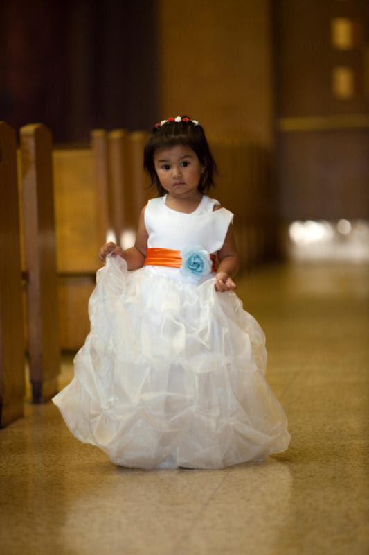Nossos doces meninas da flor! : Casamento flor de laranjeira menina vestidos de casamento Elena Luis 203