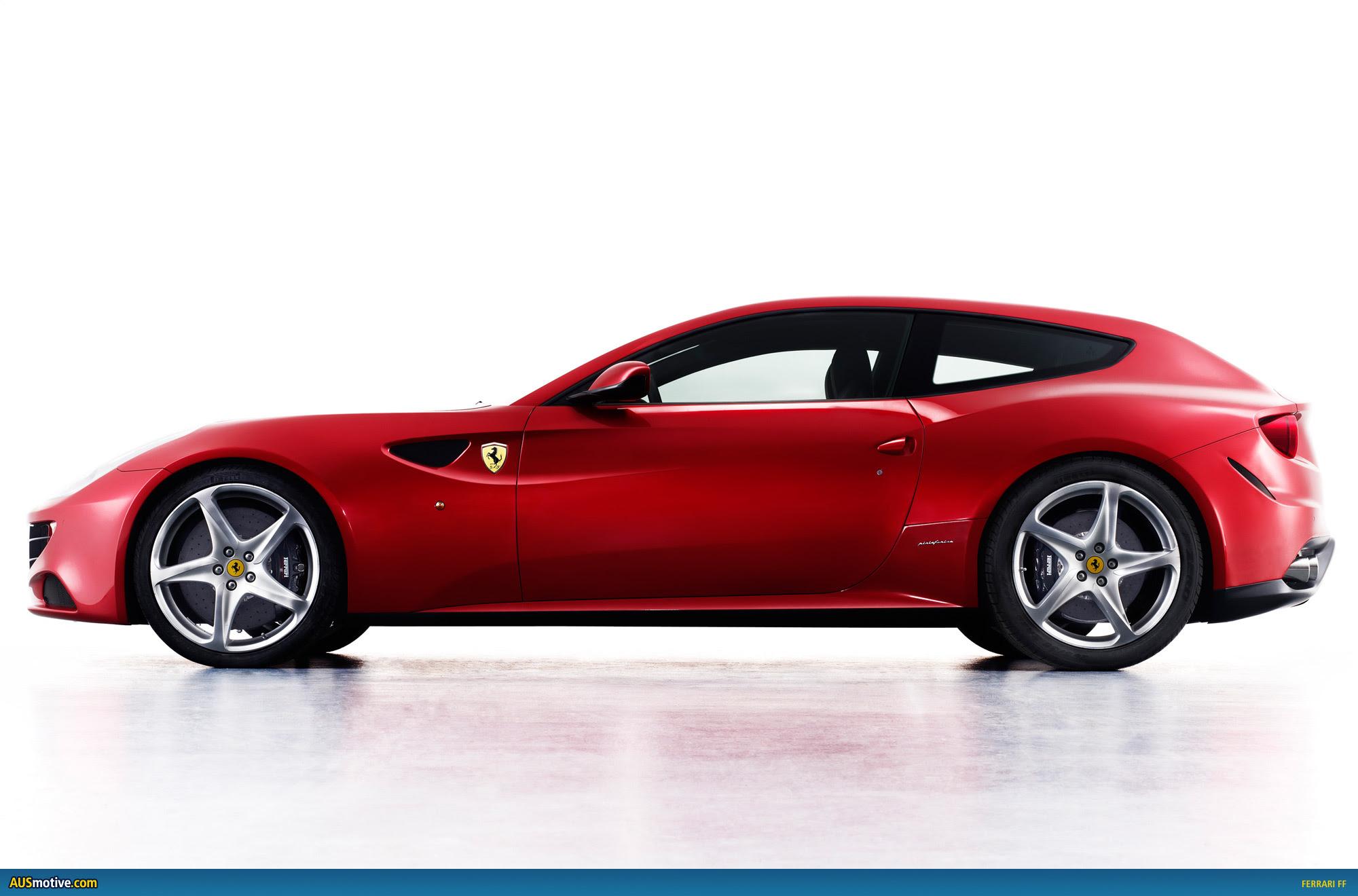AUSmotive.com » Ferrari FF gets on the four seater wagon