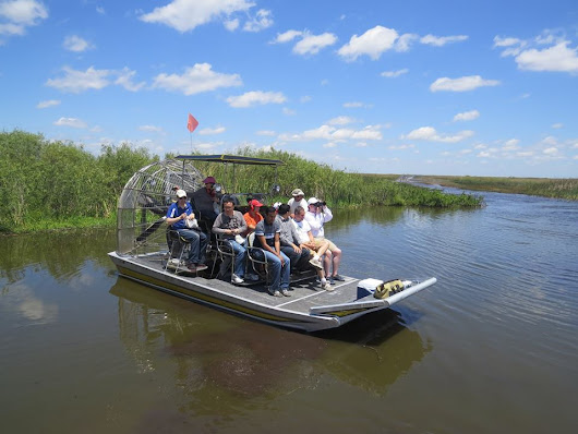 About - Airboat In Everglades, located 35 minutes west of South Beach
