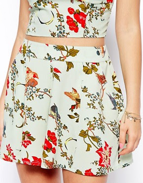 Image 3 ofASOS PETITE Exclusive Shorts in Floral Print