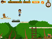 Jogar Diego baby zoo rescue game Jogos