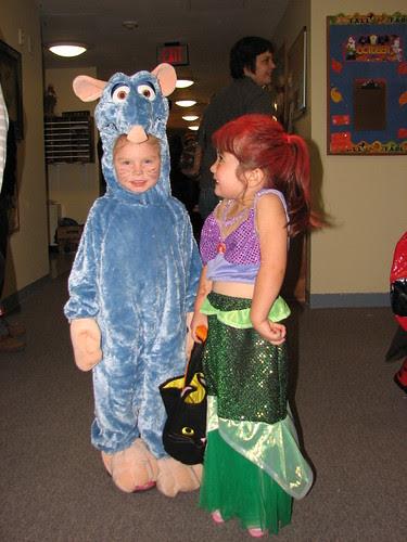 Ratatouille and Ariel