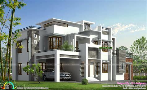 modern contemporary house plans kerala home design