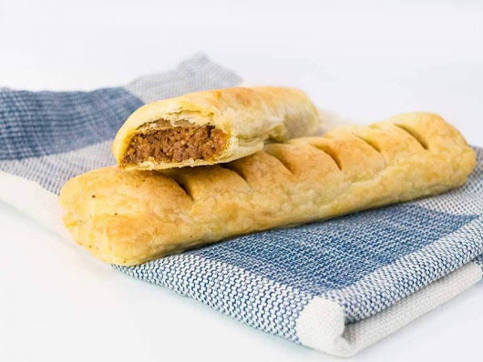 Vegan sausage rolls - just like Gregg's