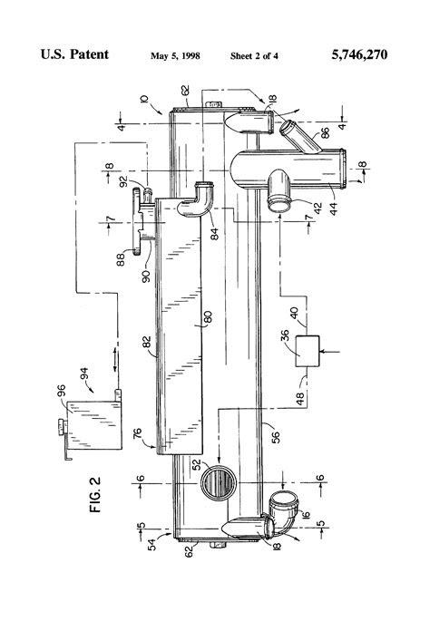 Patent US5746270 - Heat exchanger for marine engine