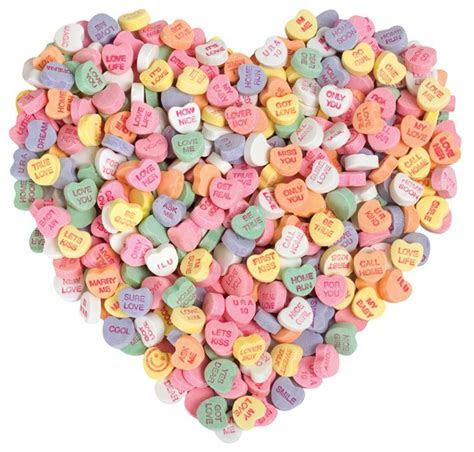 Candy Hearts Valentine's Day Card   Paper House