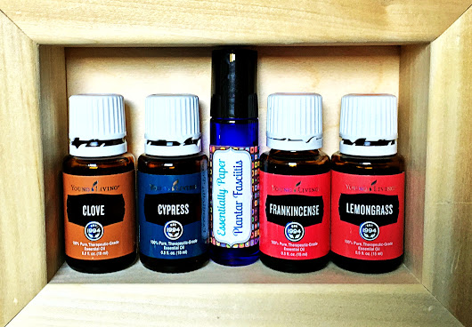 Plantar Fasciitis Essential Oil Blend now available in our Etsy store @EssentiallyPaperShop - Essentially Paper