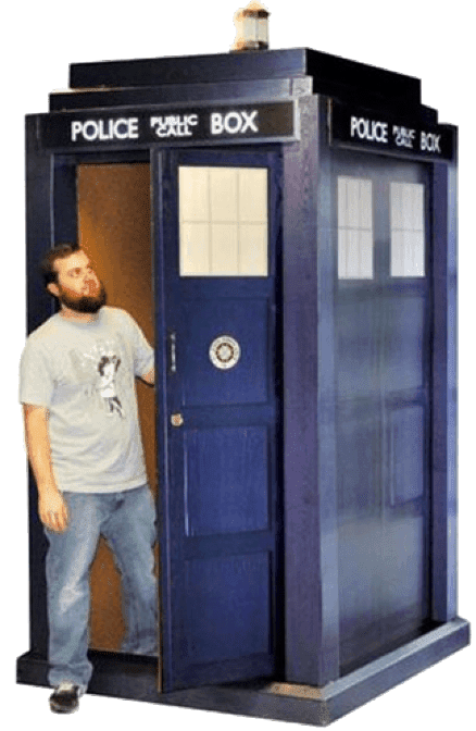 Win a TARDIS just like from Doctor Who! | Genuitec
