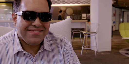 This blind programmer wrote an app for his sunglasses that let him 'see'