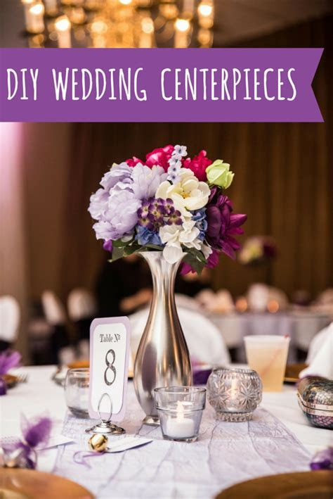 Inexpensive DIY Wedding Centerpieces ? Oh, Julia Ann
