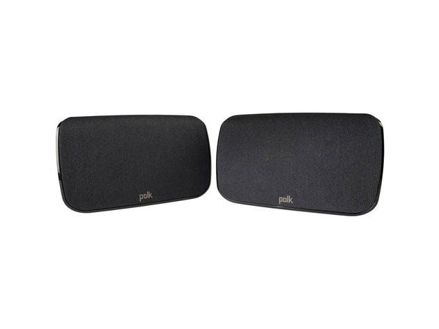 Polk Audio SR1 Wireless Rear Surround Speakers (Pair) for $149