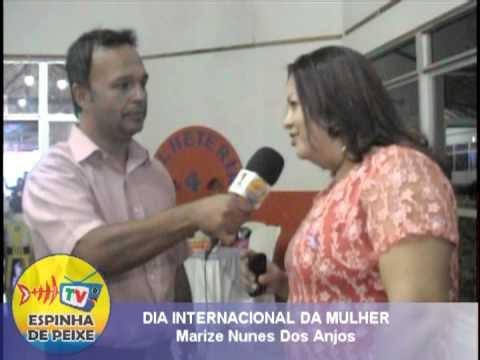 WEB TV ESPINHA DE PEIXE - DIA DAS MULHERES - MARISE NUNES