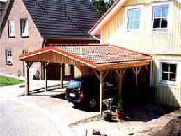 wooden carports -