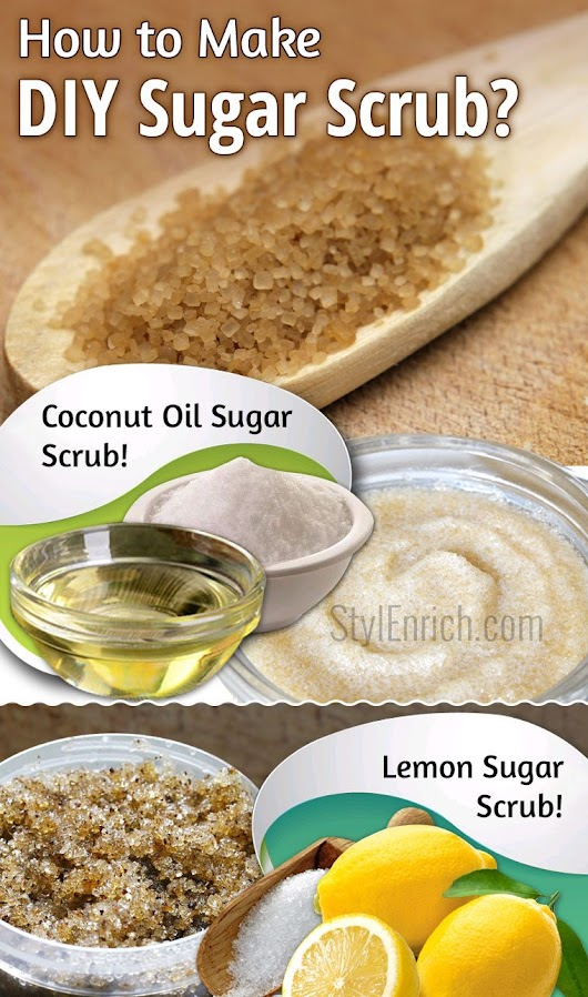 Sugar Scrub : Learn How To Make DIY Scrub at Home for Skin Exfoliation!