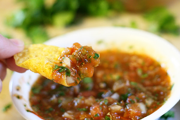 The Best Homemade Salsa