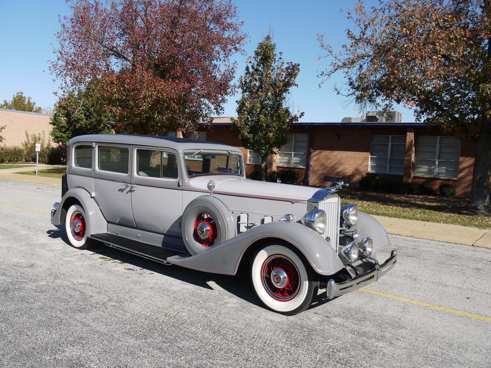 1934 Packard Super Eight 7 Passenger Sedan Classic Packard 1934 For Sale