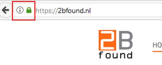 Regel vóór 1 november een SSL-certificaat voor je website! | 2Bfound