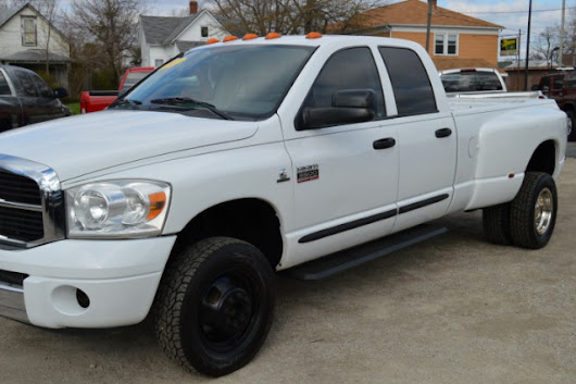 Used 2007 Dodge Ram 3500 TRX4 Off Road Quad Cab DRW for Sale in Muncie IN 47302 Ron Greenwell Auto Sales