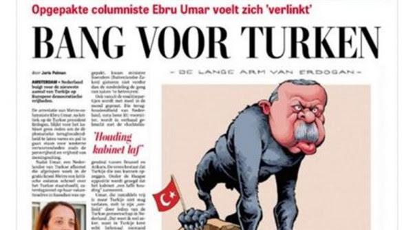 O «ΠΙΘΗΚΟΣ» ΕΡΝΤΟΓΑΝ! Ολλανδική εφημερίδα ξεφτιλίζει τον τούρκο πρόεδρο! (Φώτο) - Εικόνα2