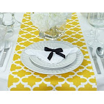 Fulton Yellow Table Runner (12 x 72)