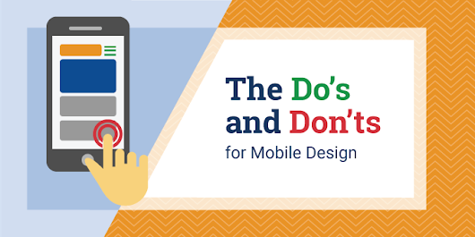 The Do's and Don'ts for Mobile Design | Blog | Global Reach