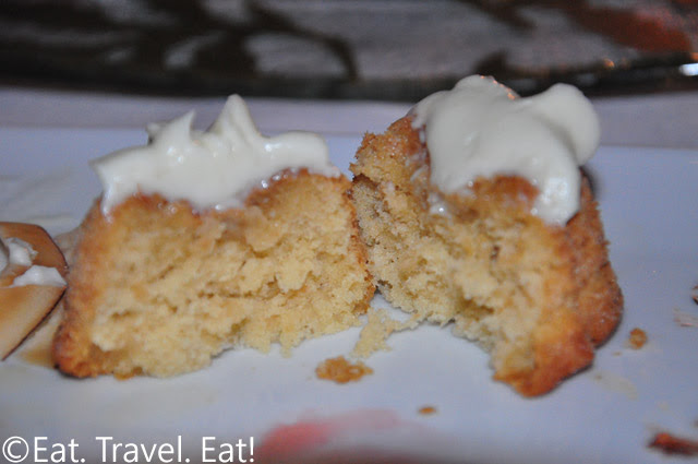 TOASTED COCONUT RUM CAKE Interior