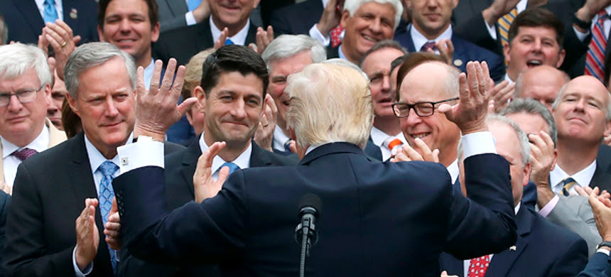 Trumpcare will make health insurance too expensive again for the 40 million people who were uninsured in 2008. (photo: Mark Wilson/Getty Images)