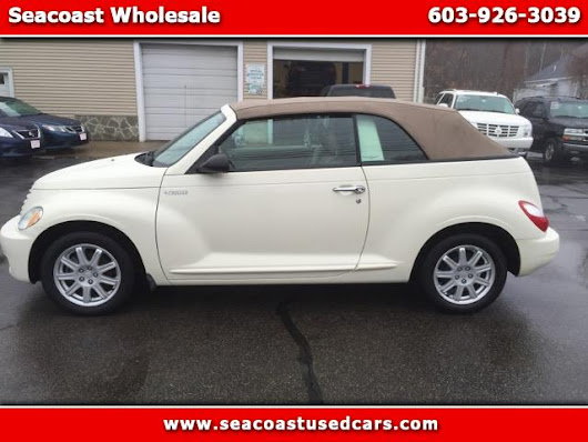 Used 2006 Chrysler PT Cruiser for Sale in Hampton Falls NH 03844 Seacoast Wholesale