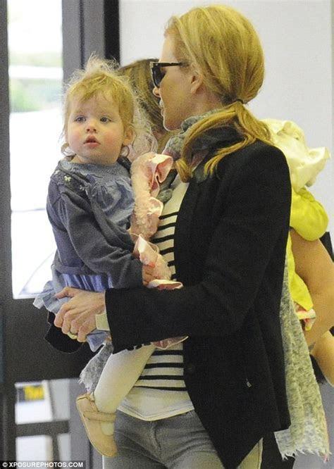 Nicole Kidman, Keith Urban and their children look in good
