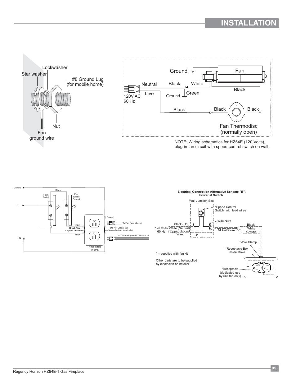 Wiring Diagram Ga Fireplace