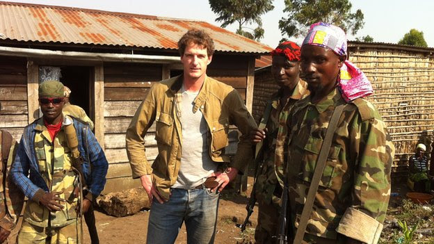 Dan Snow with M23 rebels