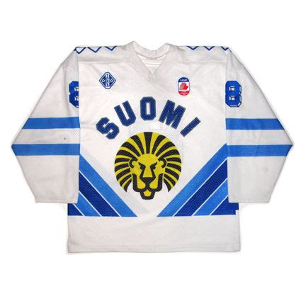 Finland 1991 Canada Cup jersey photo Finland 1991 CC F.jpg