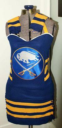 Lise's Sabres dress