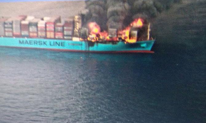 Felixstowe Dockers: Maersk Honam joins a growing list of ...