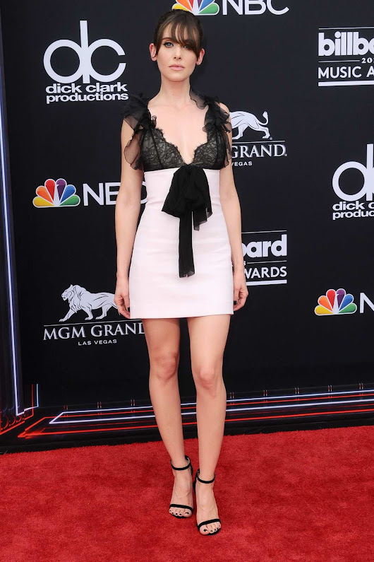 Alison Brie attends the 2018 Billboard Music Awards at MGM Grand Garden in Las Vegas, Nevada
