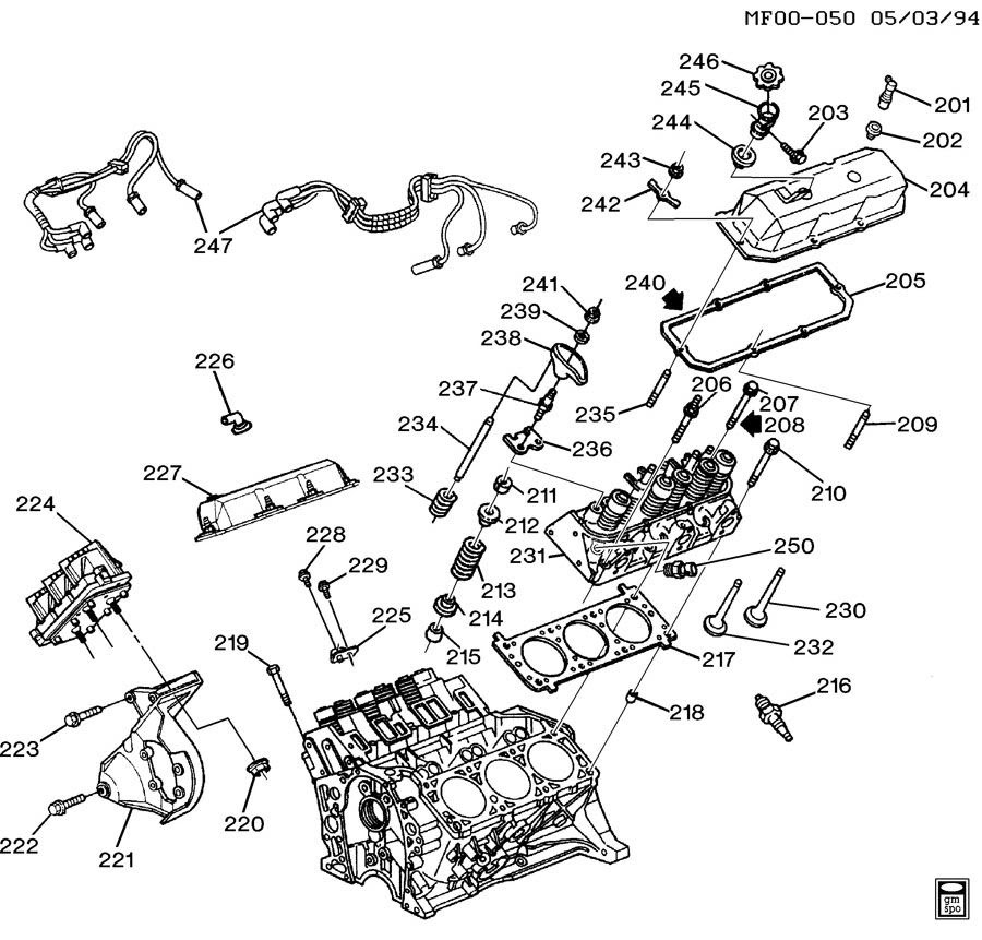 Chevrolet V6 Engine Diagram