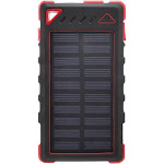 Zunammy Ultra-Compact High-Speed Portable Solar Smartphone Charger : Red