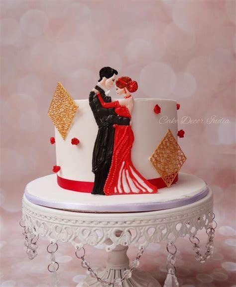 1st anniversary cake in RI   cake by Prachi Dhabaldeb
