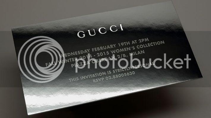 Gucci Women fall winter 2014/15 show livestream