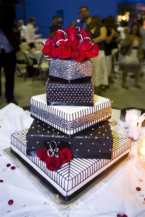 Lace, stripes, quilting, dots   black and white wedding