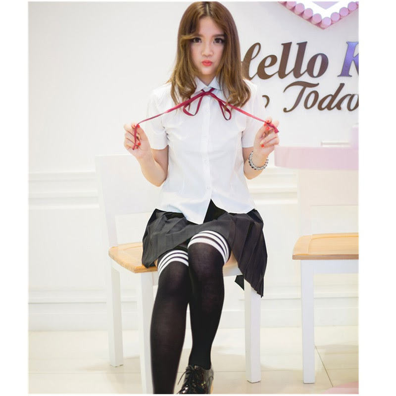 Recommended  sSexy uniforms cosplay academy style student costumes sexy lingerie DS lingerie dress with skirt se