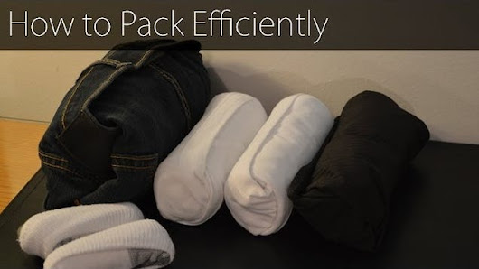 Save Space Packing Your Long Sleeve Shirts with This Method