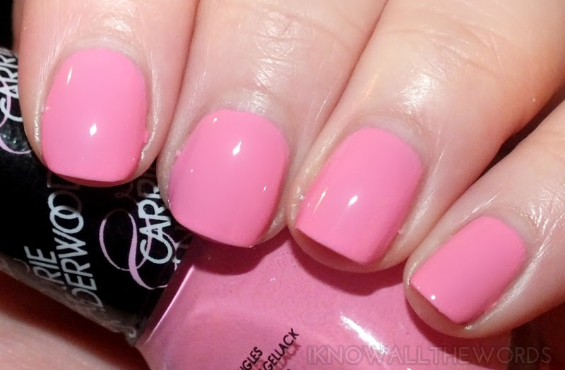 nicole by opi carrie underwood collection- Carnival Cotton Candy (6)