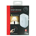 GE - Plug-In Smart Dimmer Light Switch - White