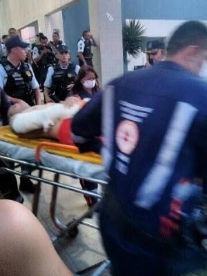 Policial foi baleado em universidade em Fortaleza (Foto: Arquivo pessoal)