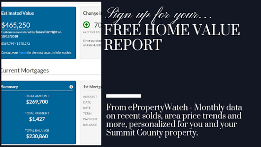 Track Your Home's Value with ePropertyWatch - Breckenridge Real Estate and Summit County Homes for Sale | Susie Cortright