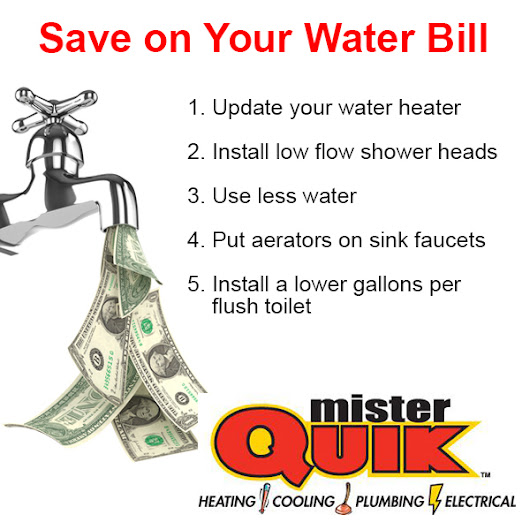 How to save on Water Bill - Mister Quik | Mister Quik